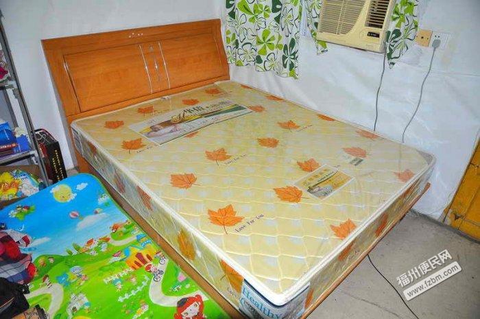 5x1.9米木床,棕床垫低价转让