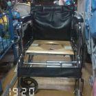 一年有几万辆旧的新的童车和轮椅在这里买卖交易 。