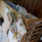 搬家!低价出售8成新婴儿床!