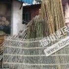 +出售:晒衣服用的竹竿 竹梯,和种花用草碳土