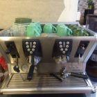 9成新圣马可咖啡机带磨豆机(甜品/咖啡馆设备)