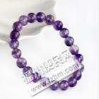 一串紫水晶手链转让,适合女孩子带,很漂亮