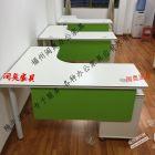 工厂直销各种全新组合办公桌,屏风位 钢架桌 组合越多省