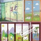 维修木门、玻璃门、推拉门及窗户、更换滑轮门锁玻璃等