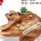 供应福州高档实木茶台,杉木价位