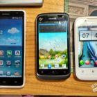 手机华为C8816,华为T8828和联想MA309转让
