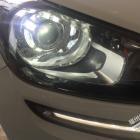 起亚KX3改双光透镜氙气大灯效果图 福州灯峰造极改灯