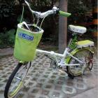永久20寸变速男女可折叠便携式自行车学生/成人单车