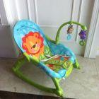 费雪 益智玩具 新生儿宝宝婴幼儿可爱动物多功能轻便摇