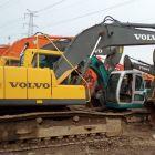 纯二手沃尔沃210挖掘机