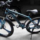 便宜转永久牌26寸三刀一体轮变速自行车!