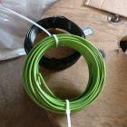厂家直销 PVC包塑镀锌丝 园艺扎线