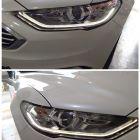 福州17款蒙迪欧改灯,车灯升级海拉透镜LED单远光透镜