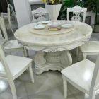 天然大理石餐桌