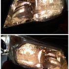 福州改灯 斯巴鲁森林人升级氙气灯透镜车灯亮五倍以上