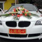 个人带车出租宝马525,可婚车预约市区商务机场接送,价