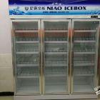 全新的三门冰柜转让有意者面议,还有全新贷架