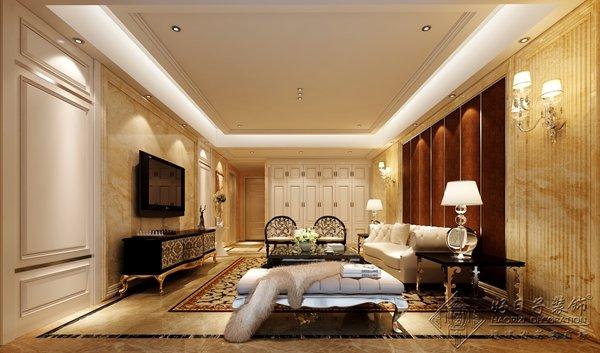 福州三室二厅欧式现代黄色装修效果图 福州三室二厅欧式现代黄色装修效果图 2013图片