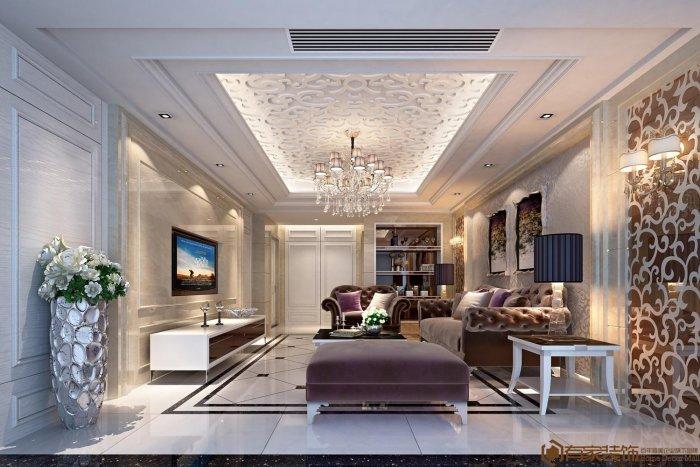 福州二室二厅欧式现代白色装修效果图 福州二室二厅欧式现代白色装修效果图 2013图片
