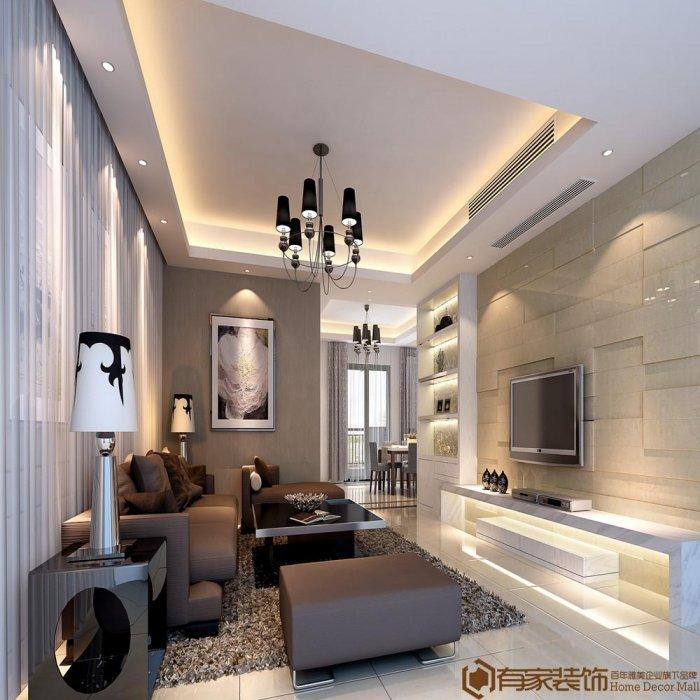 福州二室二厅简约时尚白色装修效果图 福州二室二厅简约时尚白色装修效果图 2013图片