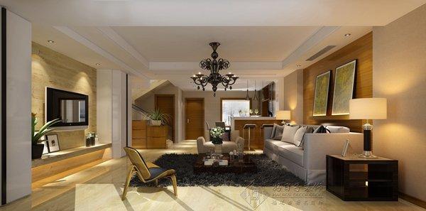 福州五室以上三厅以上中式现代黄色装修效果图 福州五室以上三厅以上中式现代黄色装修效果图 2013图片