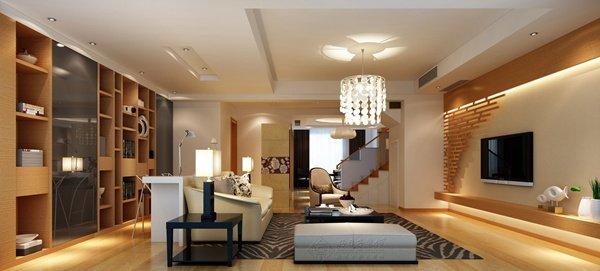 福州客厅四室二厅中式现代白色装修效果图 福州客厅四室二厅中式现代白色装修效果图 2013图片