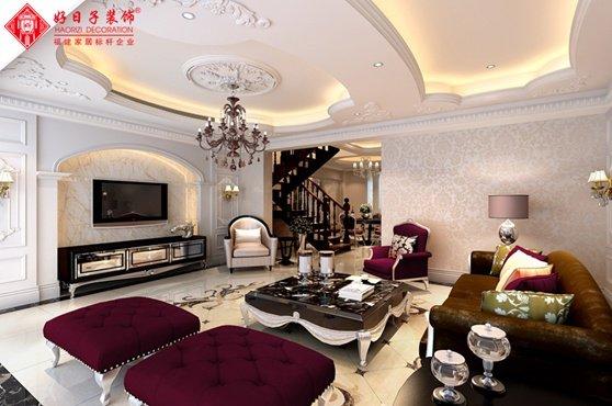 福州客厅五室以上三厅以上欧式现代白色装修效果图 福州客厅五室以上三厅以上欧式现代白色装修效果图 2013图片