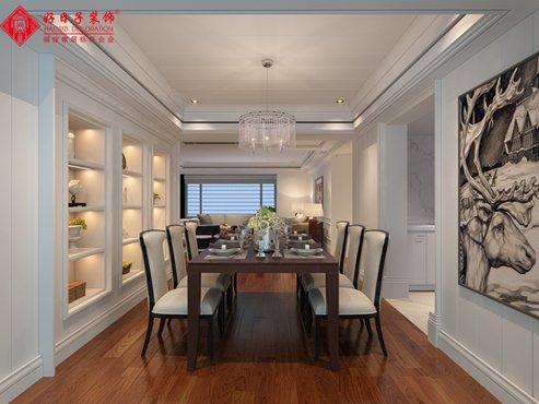 福州四室二厅欧式现代白色装修效果图 福州四室二厅欧式现代白色装修效果图 2013图片