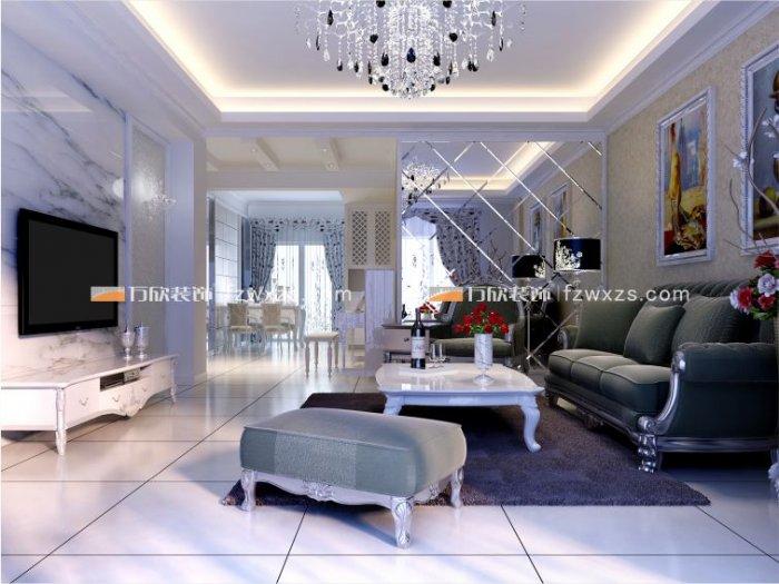 福州客厅二室一厅简约时尚黑色装修效果图 福州客厅二室一厅简约时尚黑色装修效果图 2013图片