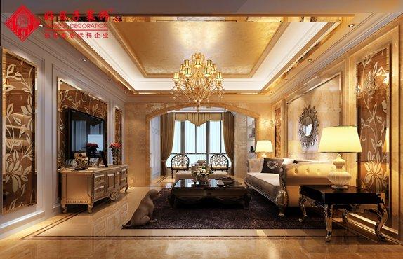 福州三室二厅欧式现代黄�