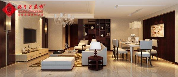 福州客厅三室二厅中式现代白色装修效果图 福州客厅三室二厅中式现代白色装修效果图 2013图片