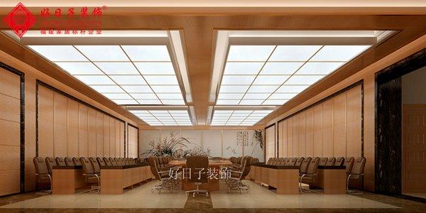 福州会议室一室一厅中式现代白色装修效果图 福州会议室一室一厅中式现代白色装修效果图 2013图片