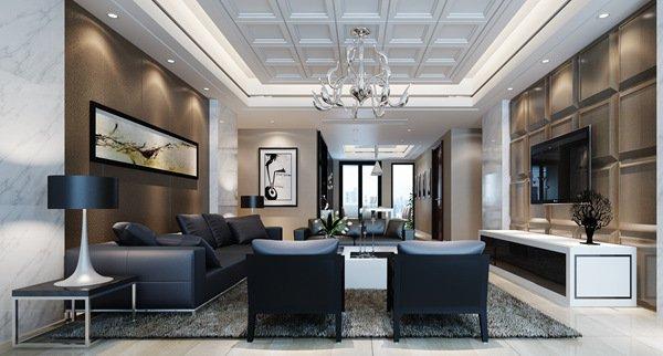 福州客厅四室二厅简约时尚白色装修效果图 福州客厅四室二厅简约时尚白色装修效果图 2013图片