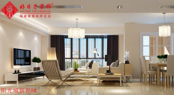 福州三室一厅简约时尚白色装修效果图 福州三室一厅简约时尚白色装修效果图 2013图片