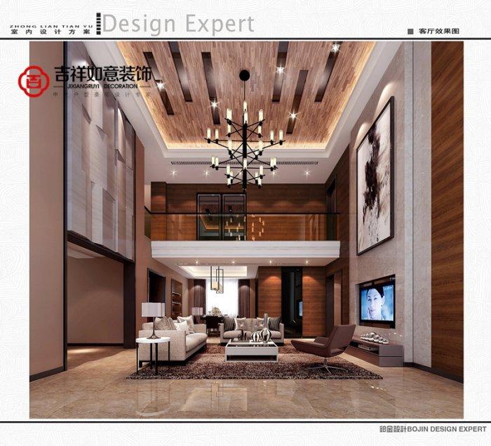 福州五室三厅简约时尚棕色装修效果图 福州五室三厅简约时尚棕色装修效果图 2013图片