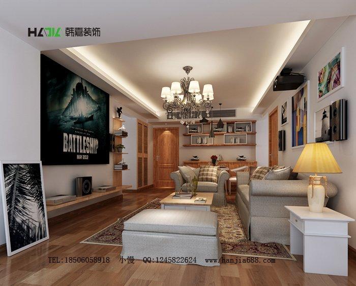 福州客厅二室一厅简约时尚棕色装修效果图 福州客厅二室一厅简约时尚棕色装修效果图 2013图片