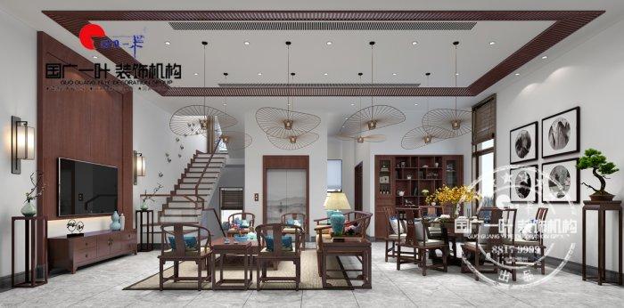 福州三室二厅中式现代白色装修效果图 福州三室二厅中式现代白色装修效果图 2013图片